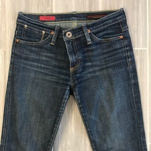 AG jeans the Kiss, dark wash, skinny, size 26